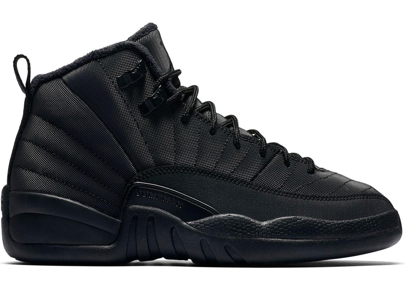 52955506cf8 View All Bids. Jordan 12 Retro Winter Black (GS). Black (GS)
