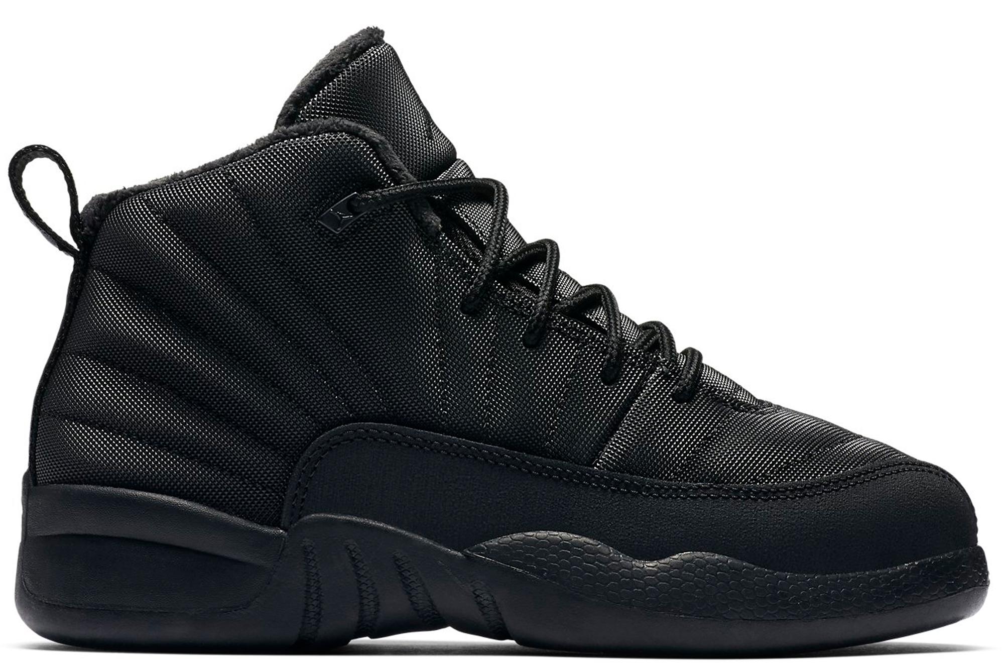 Jordan 12 Retro Winter Black (PS)