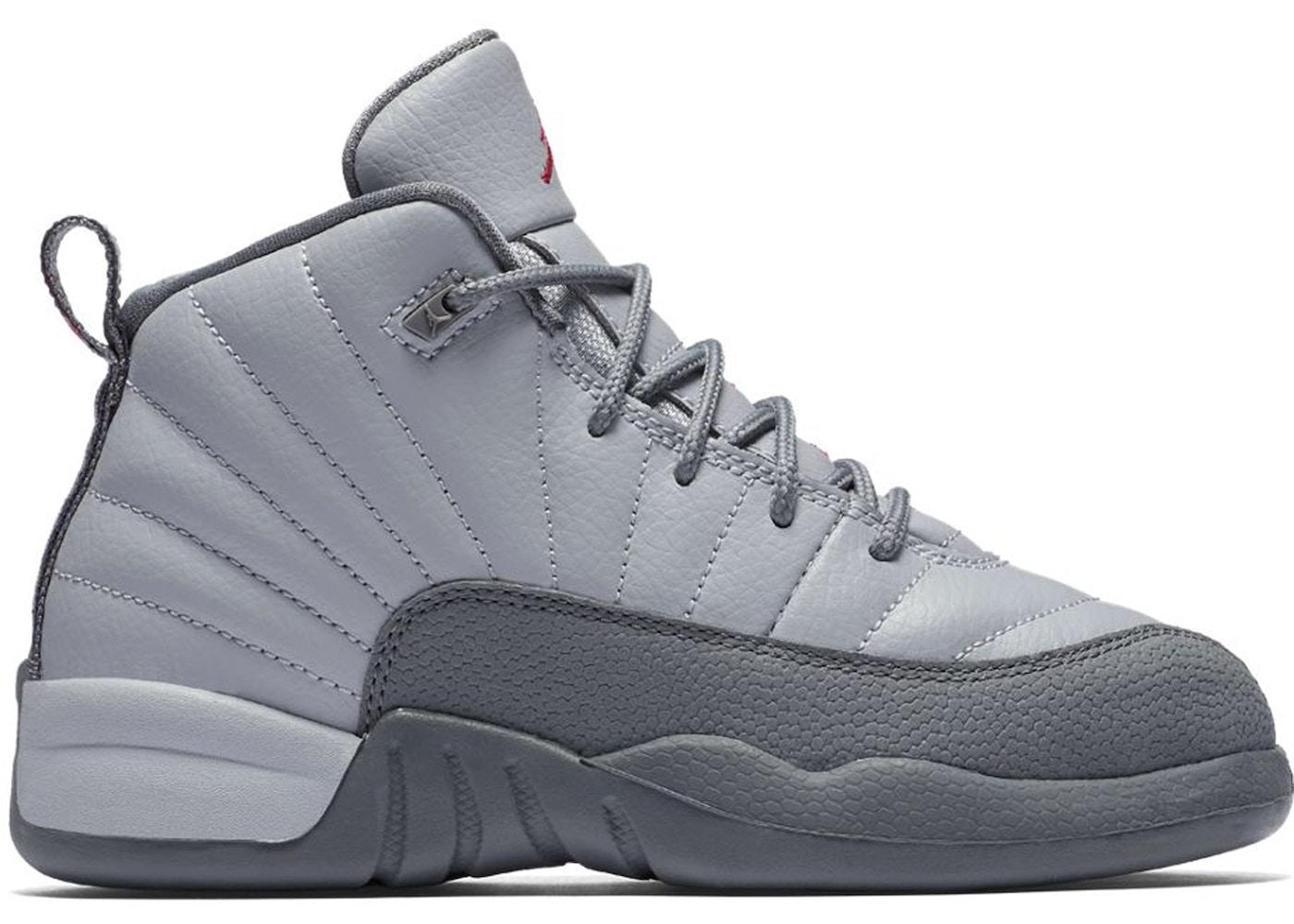bf781ae6c7e8 Jordan 12 Retro Wolf Grey Vivid Pink (PS) - 510816-029