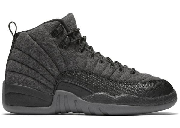 05488024dbd55f Jordan 12 Retro Wool (GS) - 852626-003