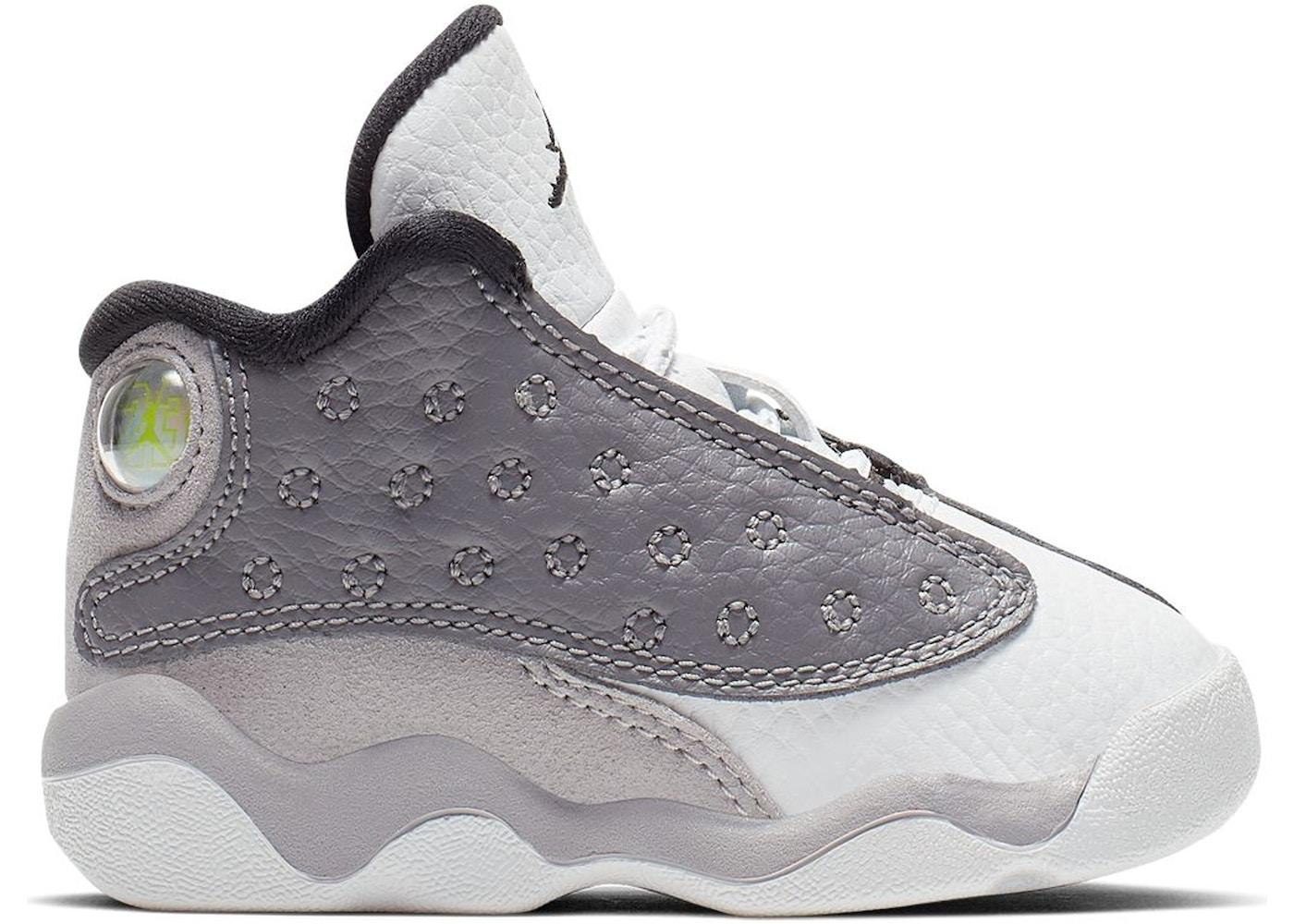 70cfbb4bbf5621 Jordan 13 Retro Atmosphere Grey (TD) - 414581-016