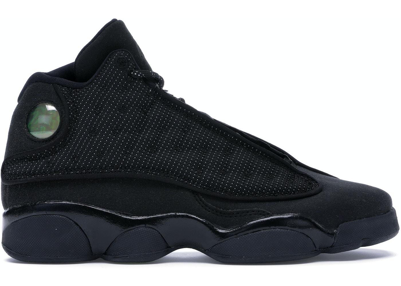 on sale 206a4 b360d Jordan 13 Retro Black Cat (GS) - 884129-011