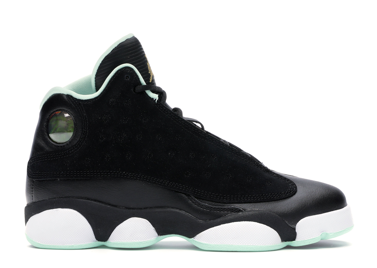 Jordan 13 Retro Black Mint Foam (GS