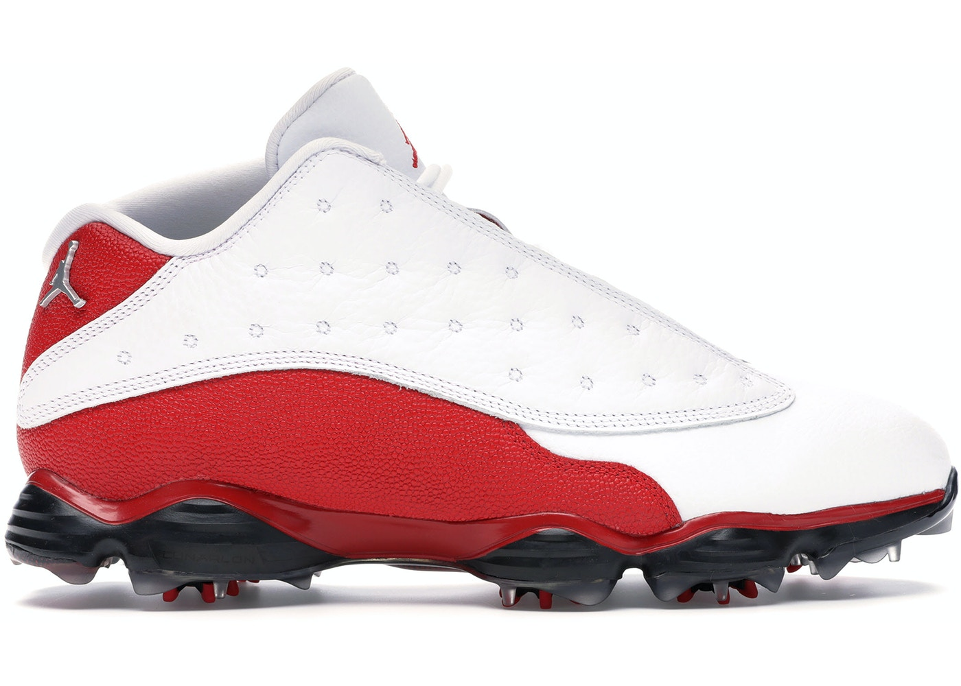 brand new 8c513 2d596 Jordan 13 Retro Golf Cleat White Red