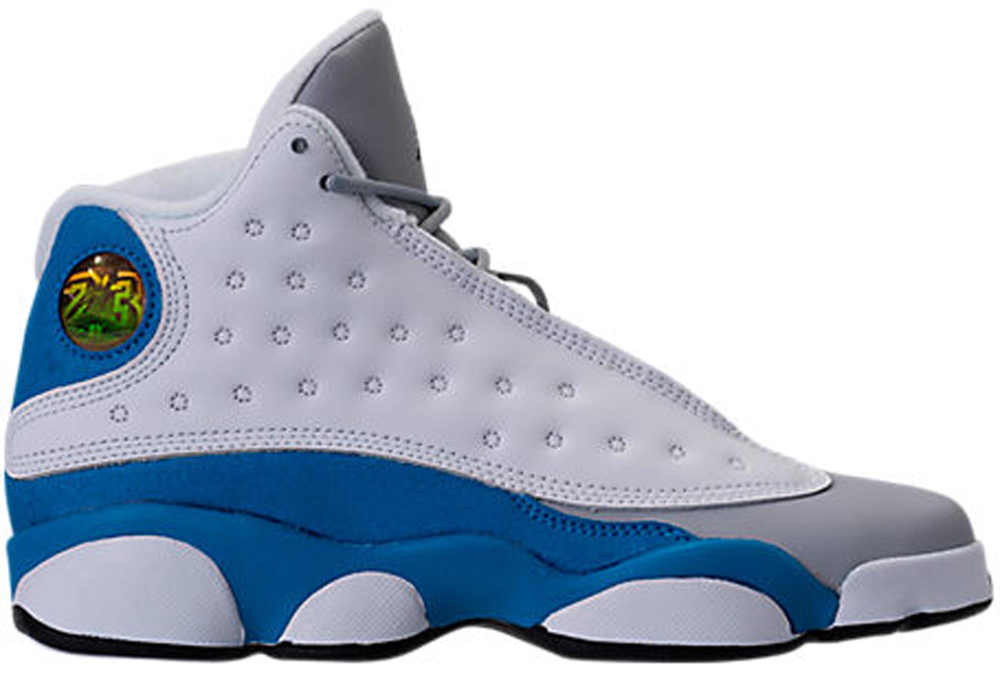 Jordan 13 Retro White Italy Blue (GS