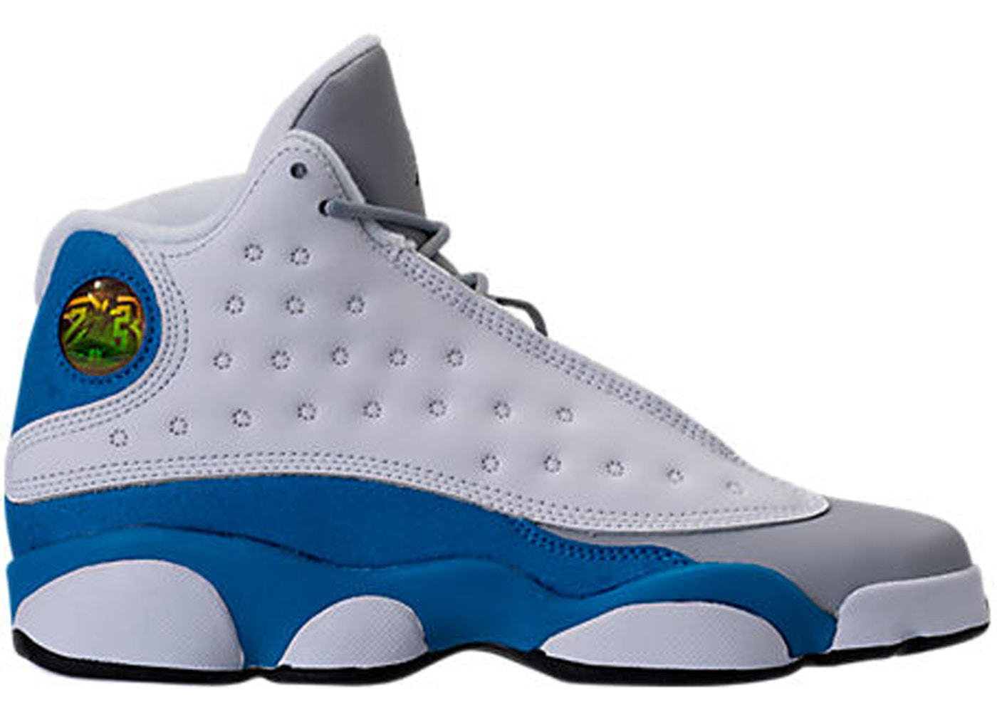 wholesale dealer d8224 ec1c9 Jordan 13 Retro White Italy Blue (GS)