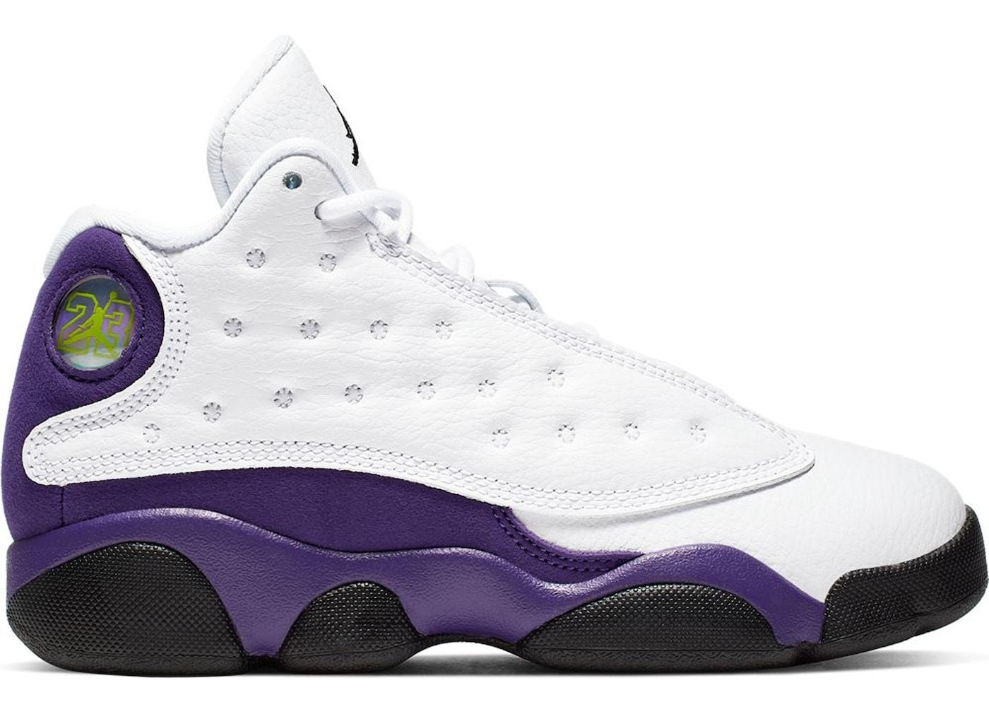 huge discount 292dc 1d056 Jordan 13 Retro Lakers (PS)