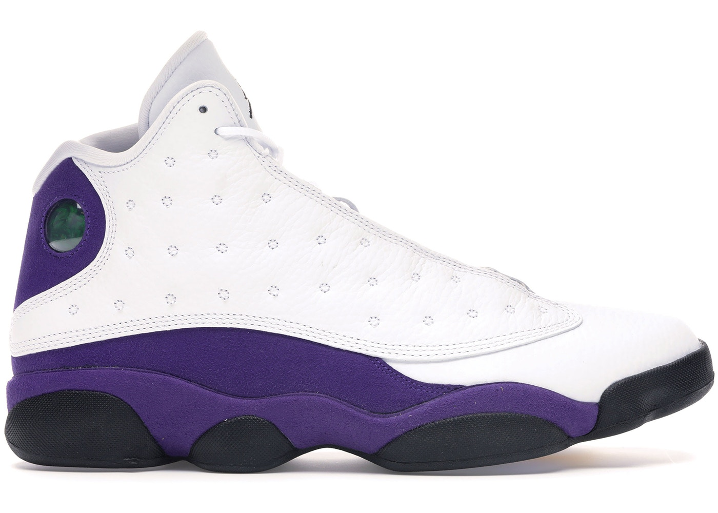 official photos 1fb16 08e87 Jordan 13 Retro Lakers