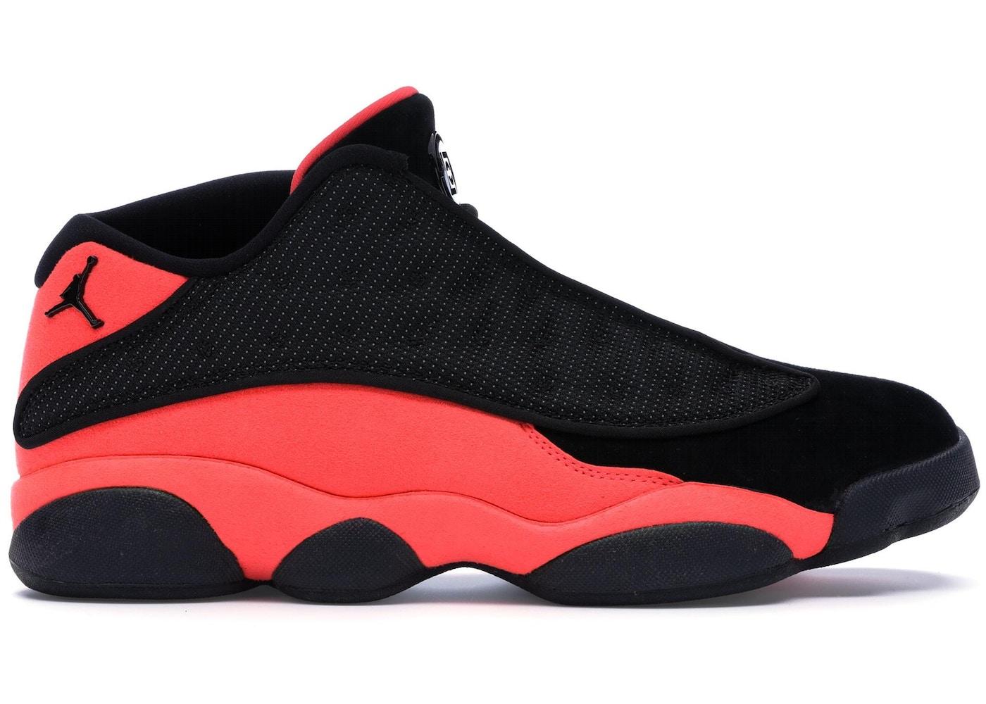 huge discount 8cae0 a7d16 Jordan 13 Retro Low Clot Black Red