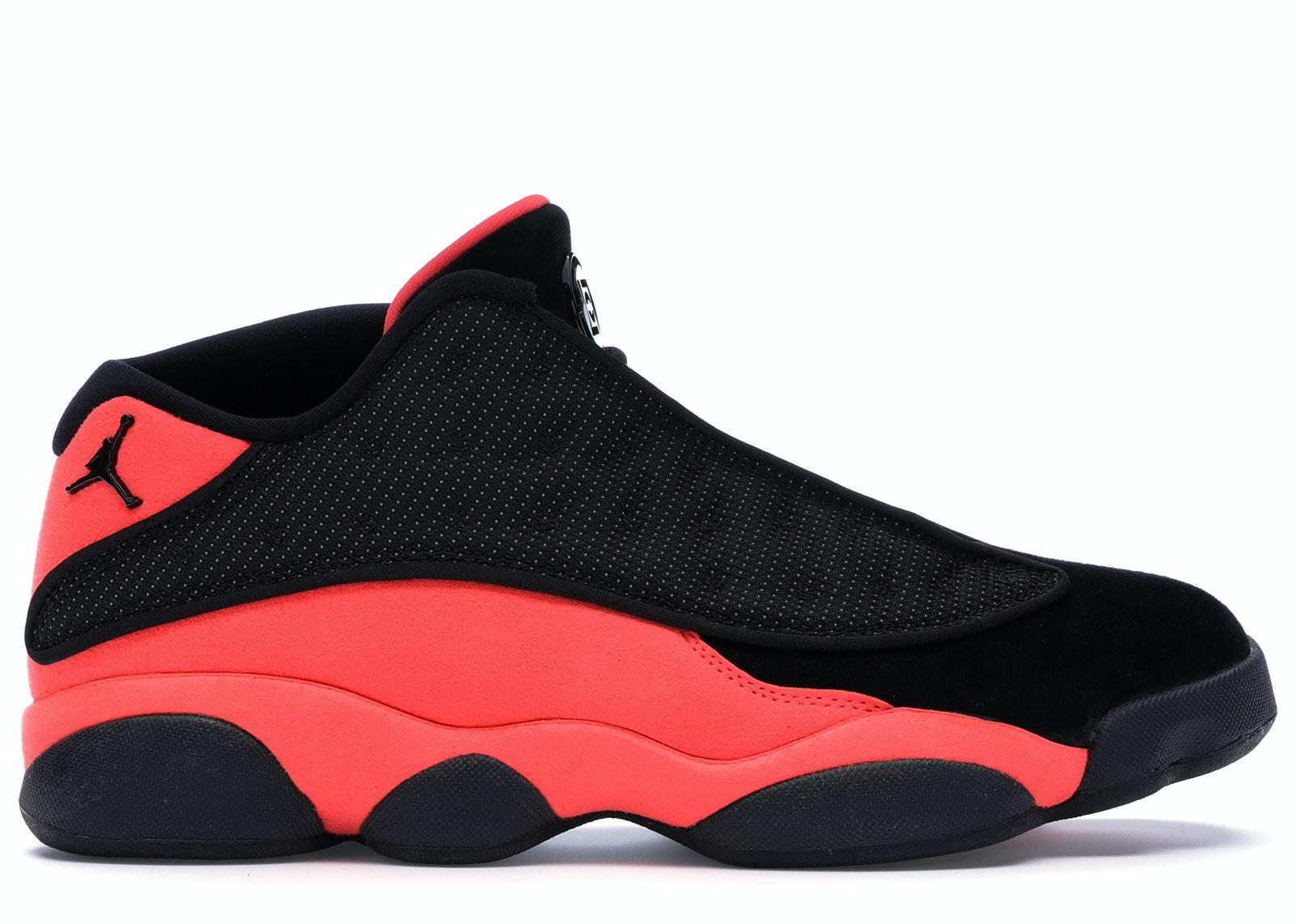 Jordan 13 Retro Low Clot Black Red
