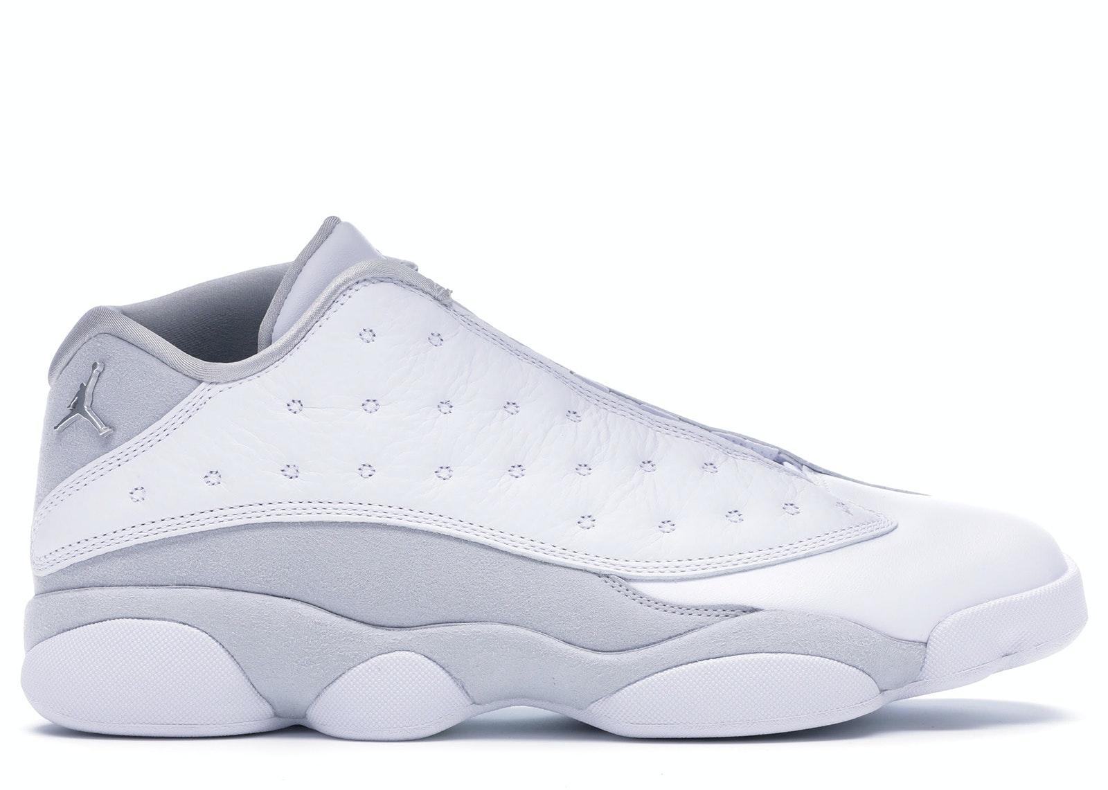 Jordan 13 Retro Low Pure Platinum