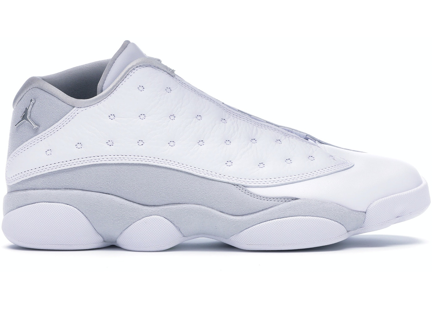 new concept cf476 e85f9 Jordan 13 Retro Low Pure Platinum