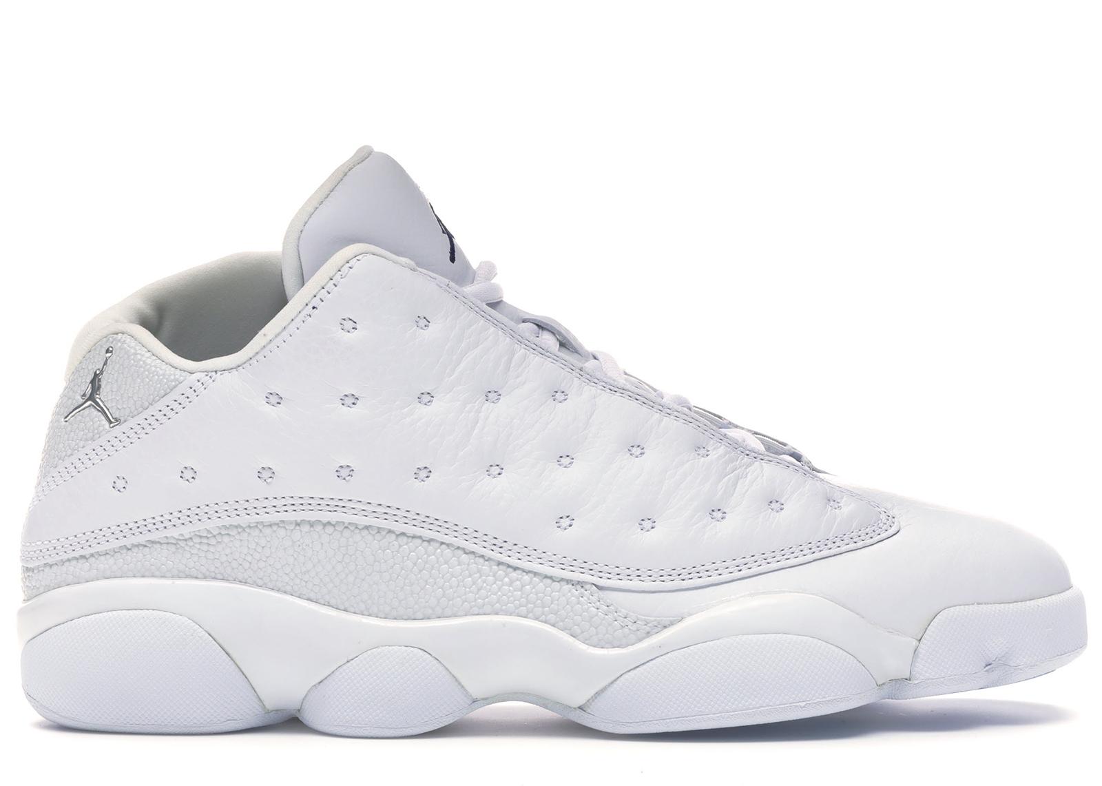 Jordan 13 Retro Low All White - 310810-103