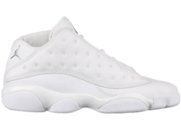 767143da0a52 Jordan 13 Retro Low All White - 310810-103
