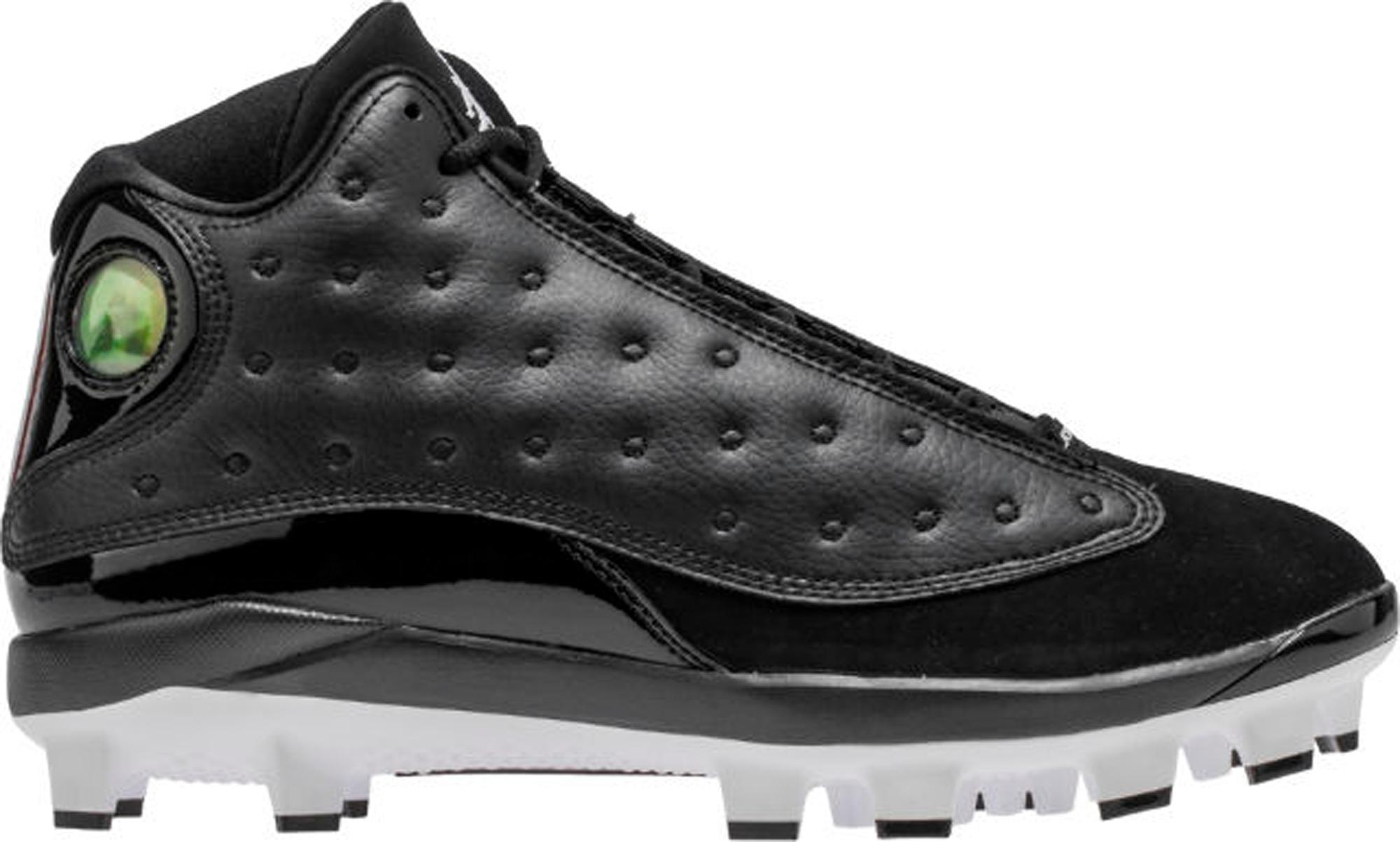 Jordan 13 Retro MCS Cleat Black