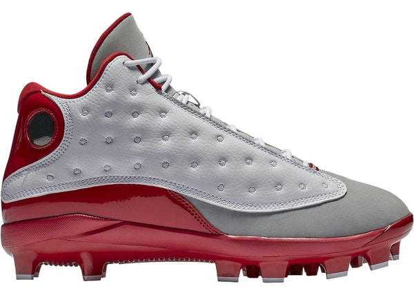 finest selection 25f43 24edf Jordan 13 Retro MCS Cleat Grey Toe - AJ8016-126
