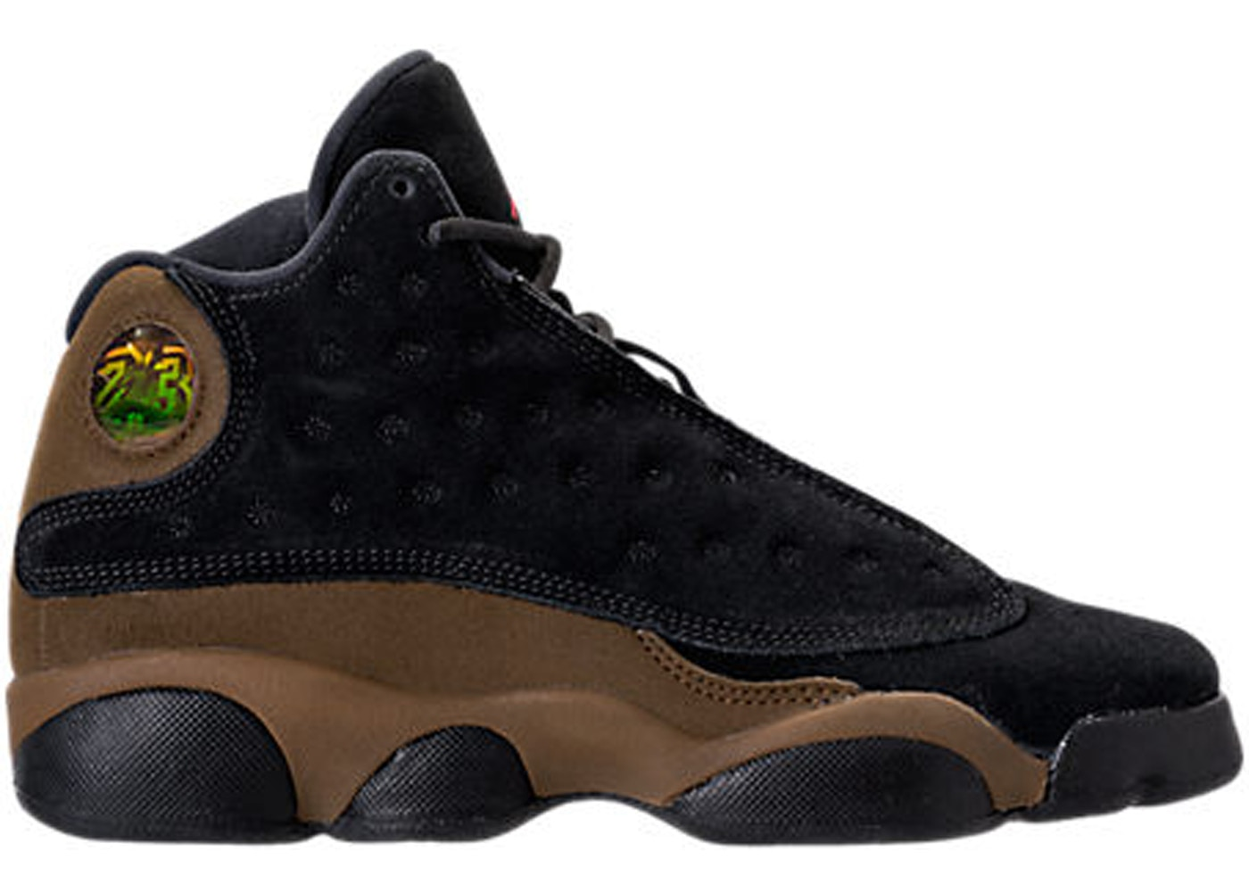 huge discount f3ed6 06539 Jordan 13 Retro Olive (GS) - 884129-006