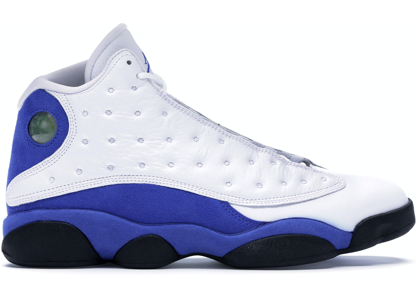 the latest dfa46 bae10 Jordan 13 Retro White Hyper Royal Black - 414571-117
