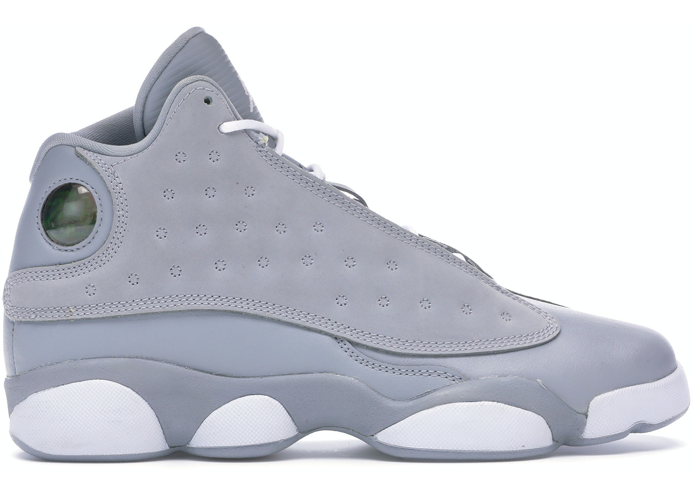 a42d309ad509 Jordan 13 Retro Wolf Grey Deadly Pink (GS) - 439358-018