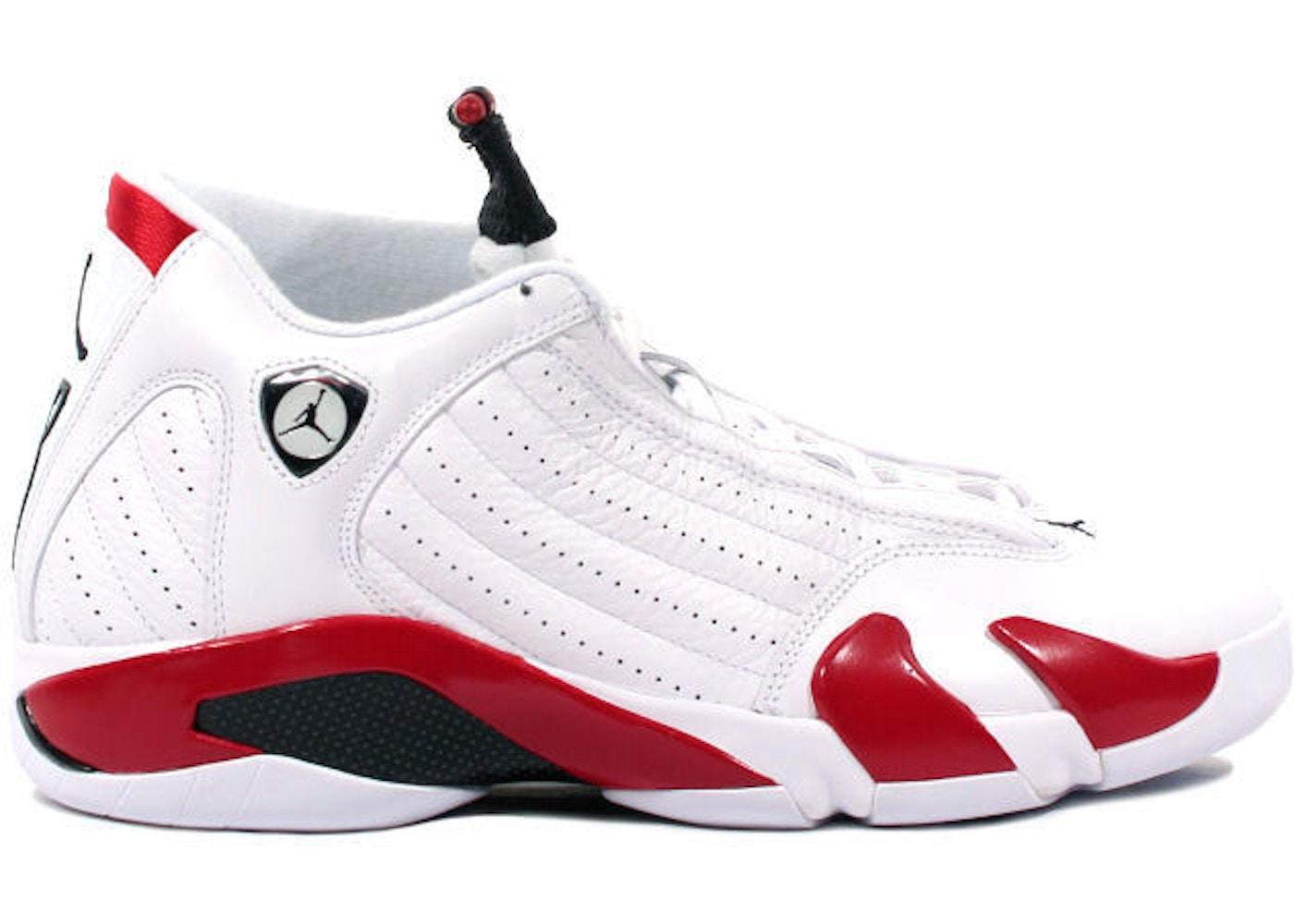 separation shoes 10108 df24a Jordan 14 OG Candy Cane (1999)
