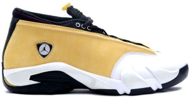 air jordan retro 14 gold yellow