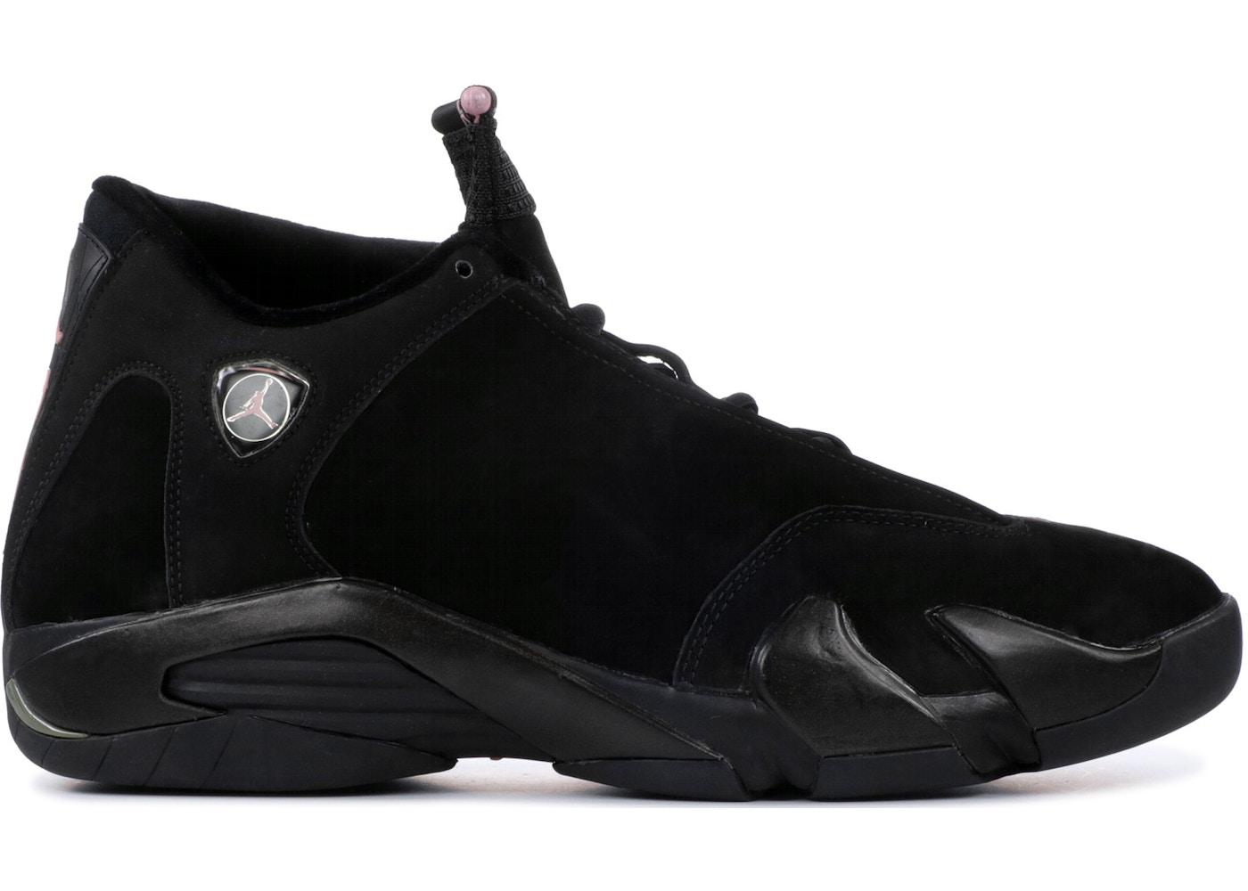 low priced b151e 7d477 Jordan 14 Retro Black Real Pink (W)