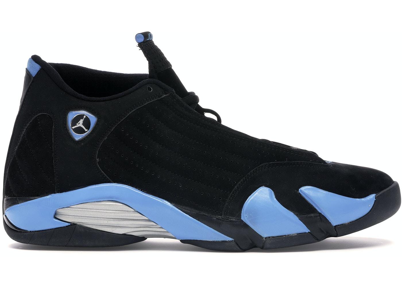 buy popular 2a0ea d8f65 Jordan 14 Retro Black University Blue