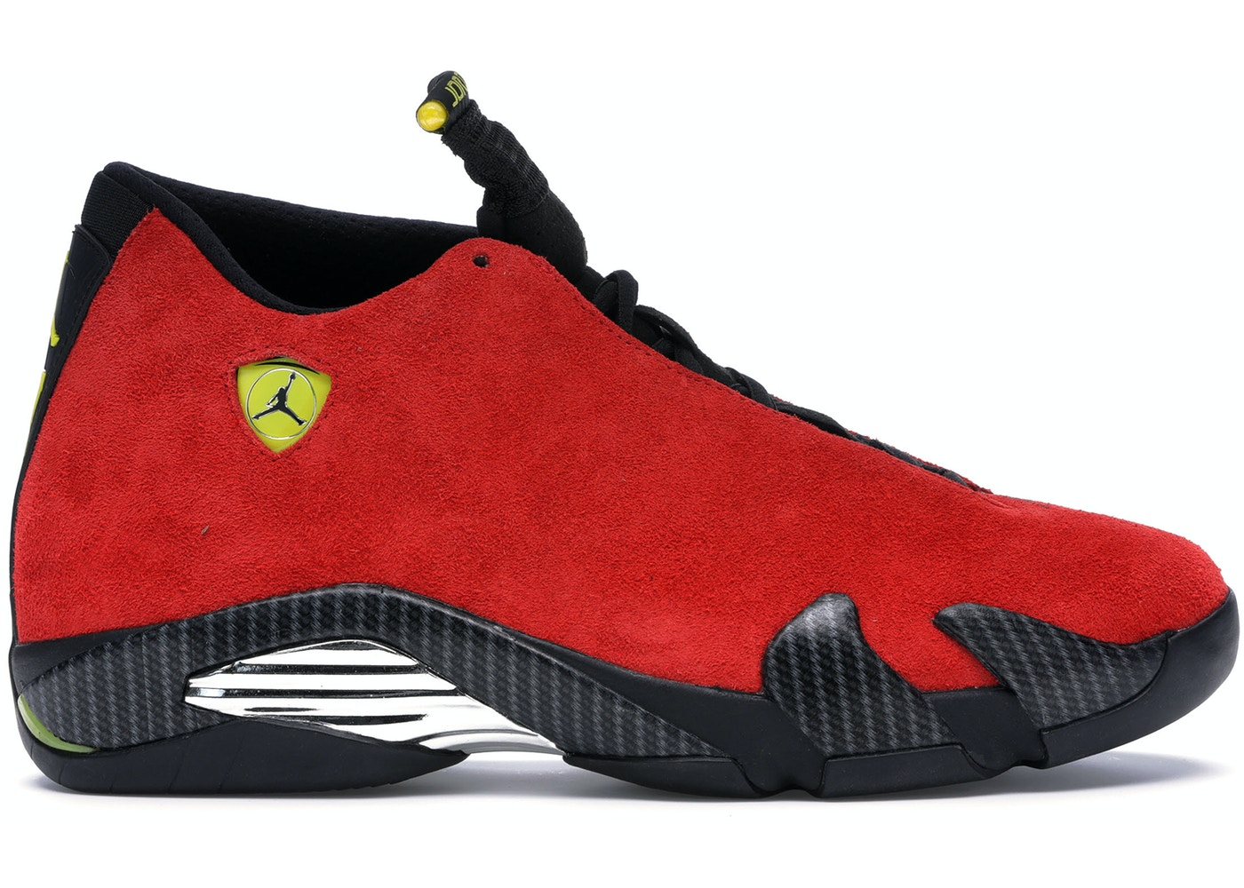 wholesale dealer 7856e 6c9df Jordan 14 Retro Ferrari - 654459-670