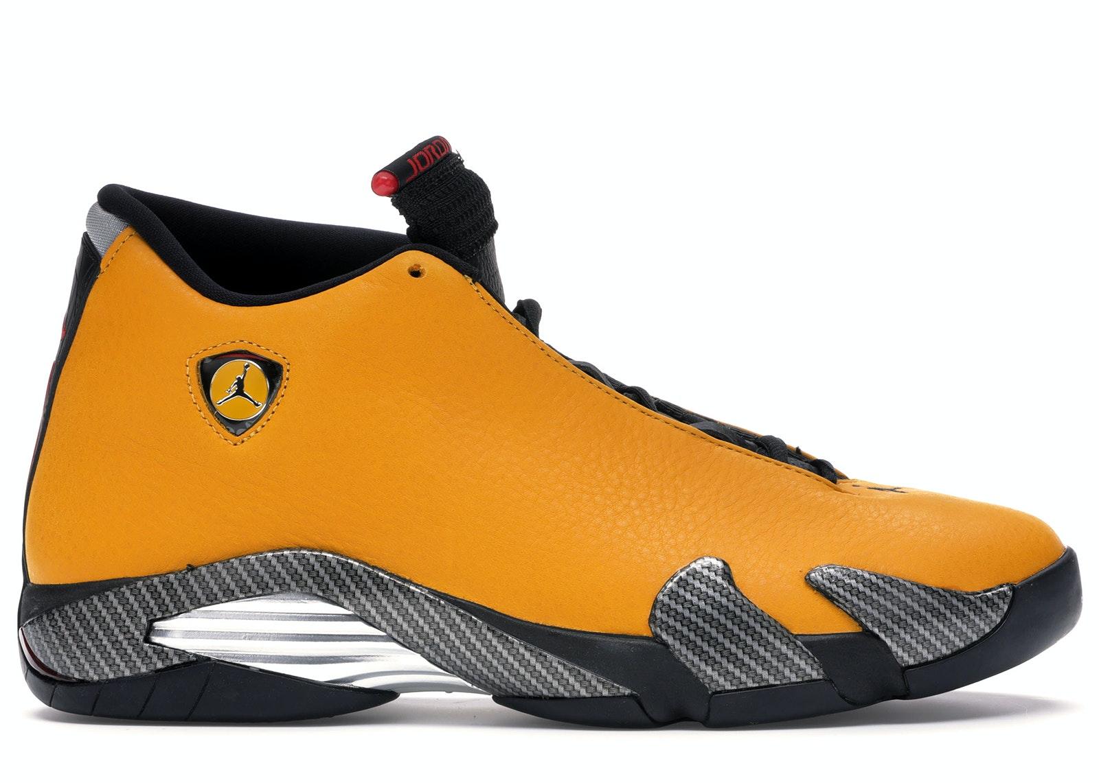 Jordan 14 Retro Ferrari University Gold