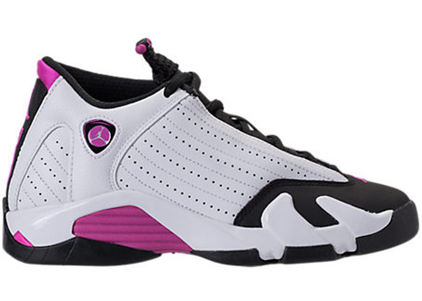 3d59e1d685146e Sell. or Ask. Size  7Y. View All Bids. Jordan 14 Retro Fuchsia Flash Black  Toe ...