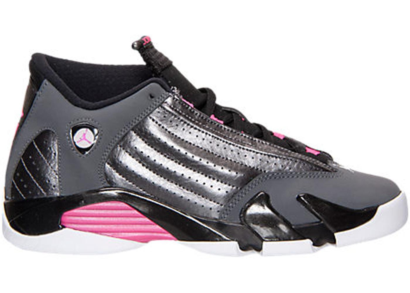 b713876f71c Jordan 14 Retro Hyper Pink (GS) - 654969-028