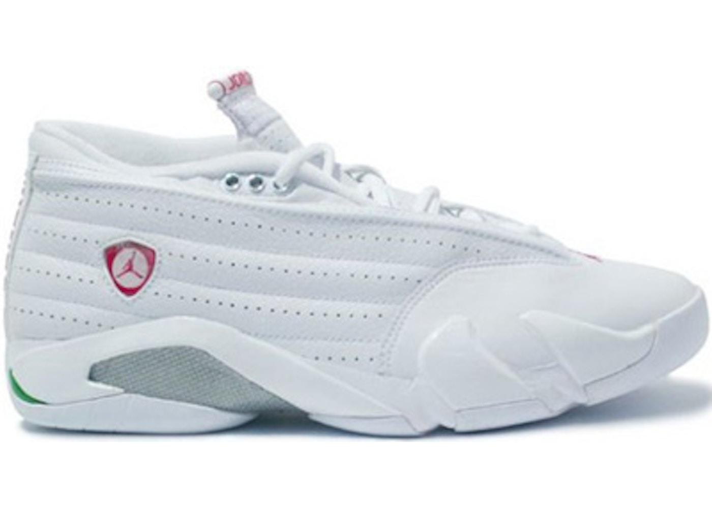 size 40 38fb7 7e5ab Jordan 14 Retro Low White Cerise - 312567-161