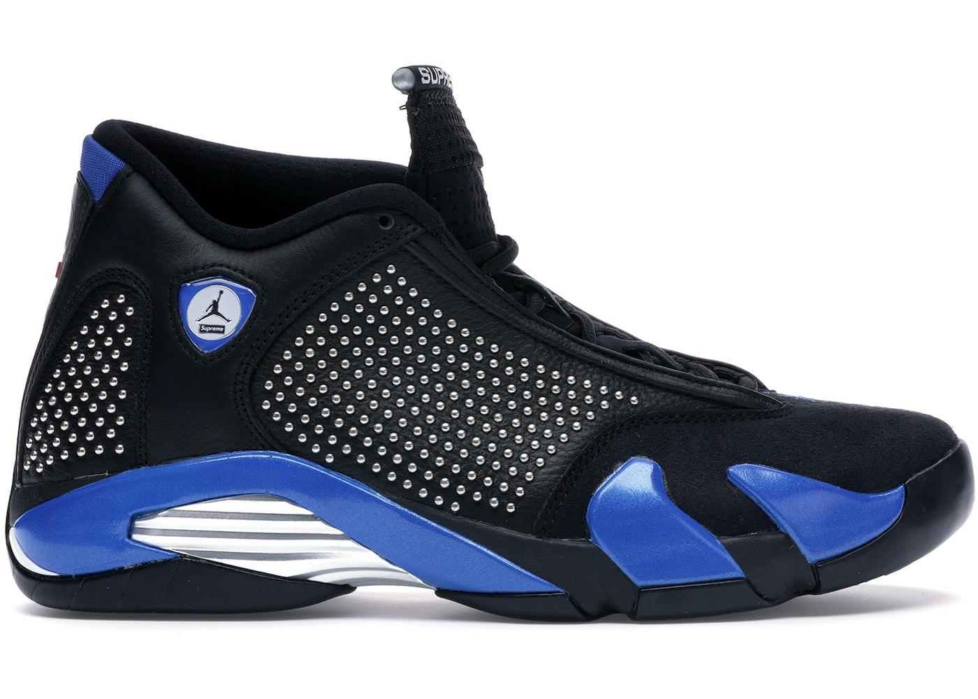 online store 524e2 1d937 Jordan 14 Retro Supreme Black