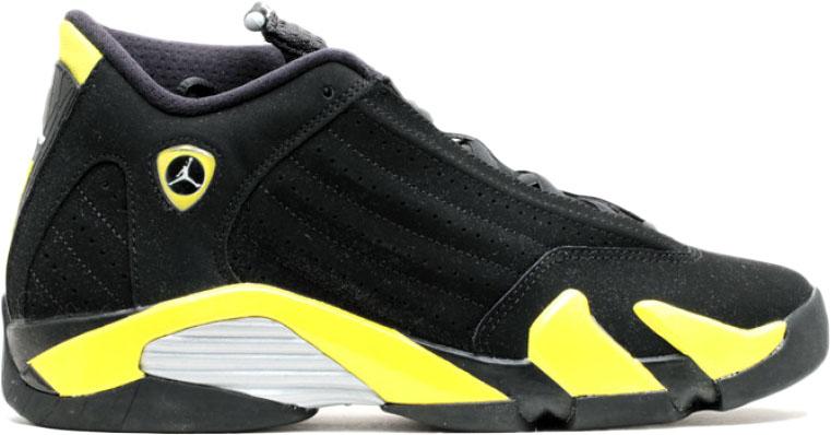 Jordan 14 Retro Thunder (GS) - 487524-070