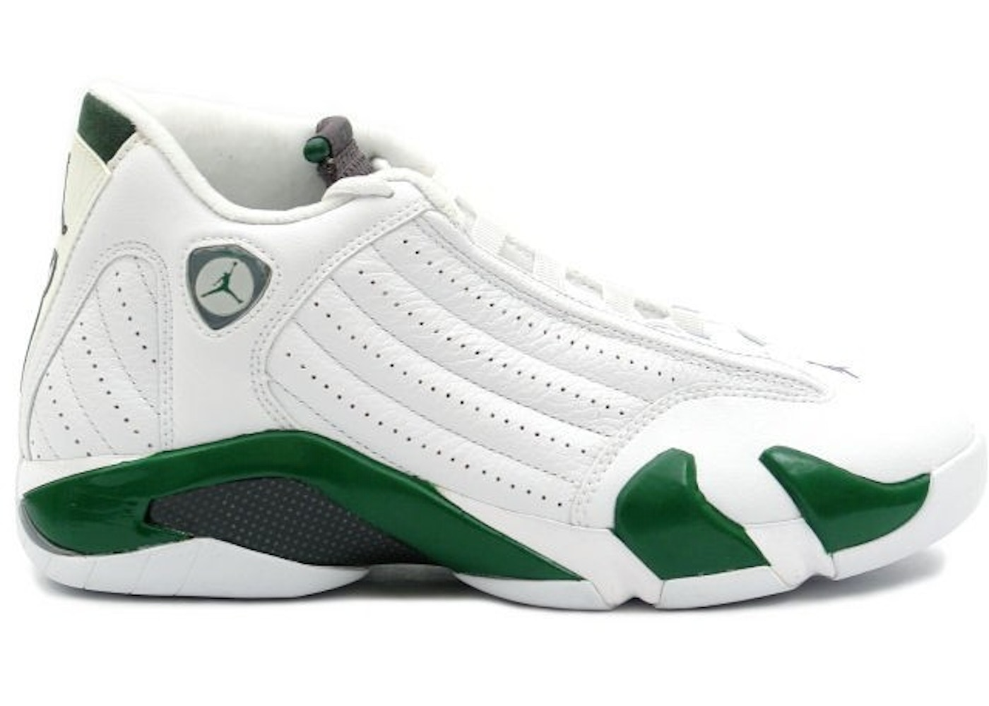 bec1ddc6ac36f1 Jordan 14 Retro White Forest Green - 311832-131