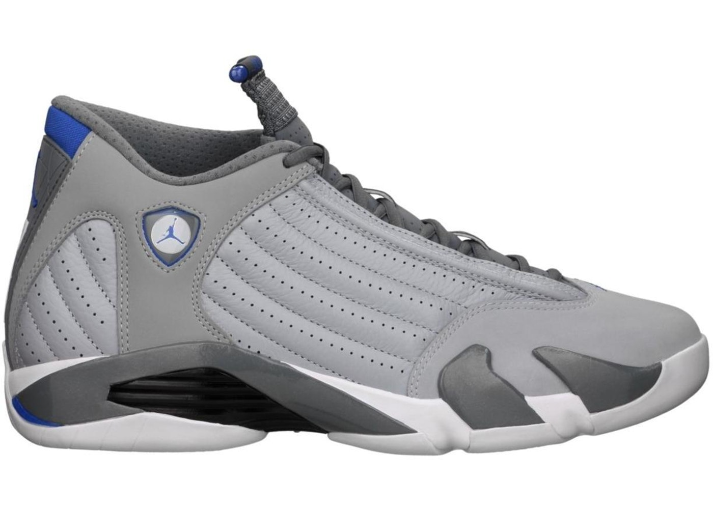 on sale 9280a d3135 Jordan 14 Retro Wolf Grey