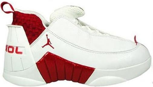 Jordan 15 OG Low White Red