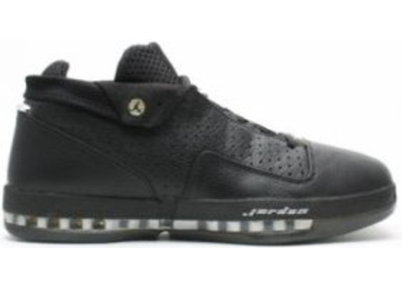 sneakers for cheap 4efe2 cf8b3 Jordan 16 OG Low Black / Chrome