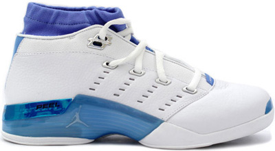 Jordan 17 OG Low White Carolina