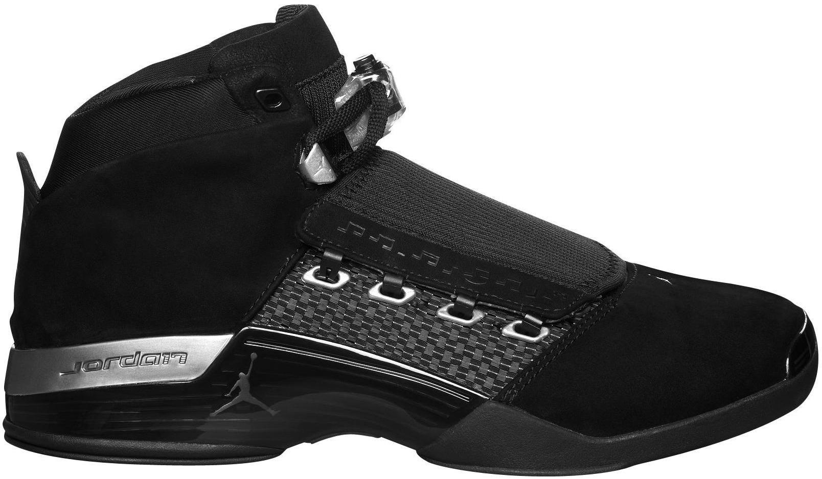 Jordan 17 Retro Black Silver CDP (2008)