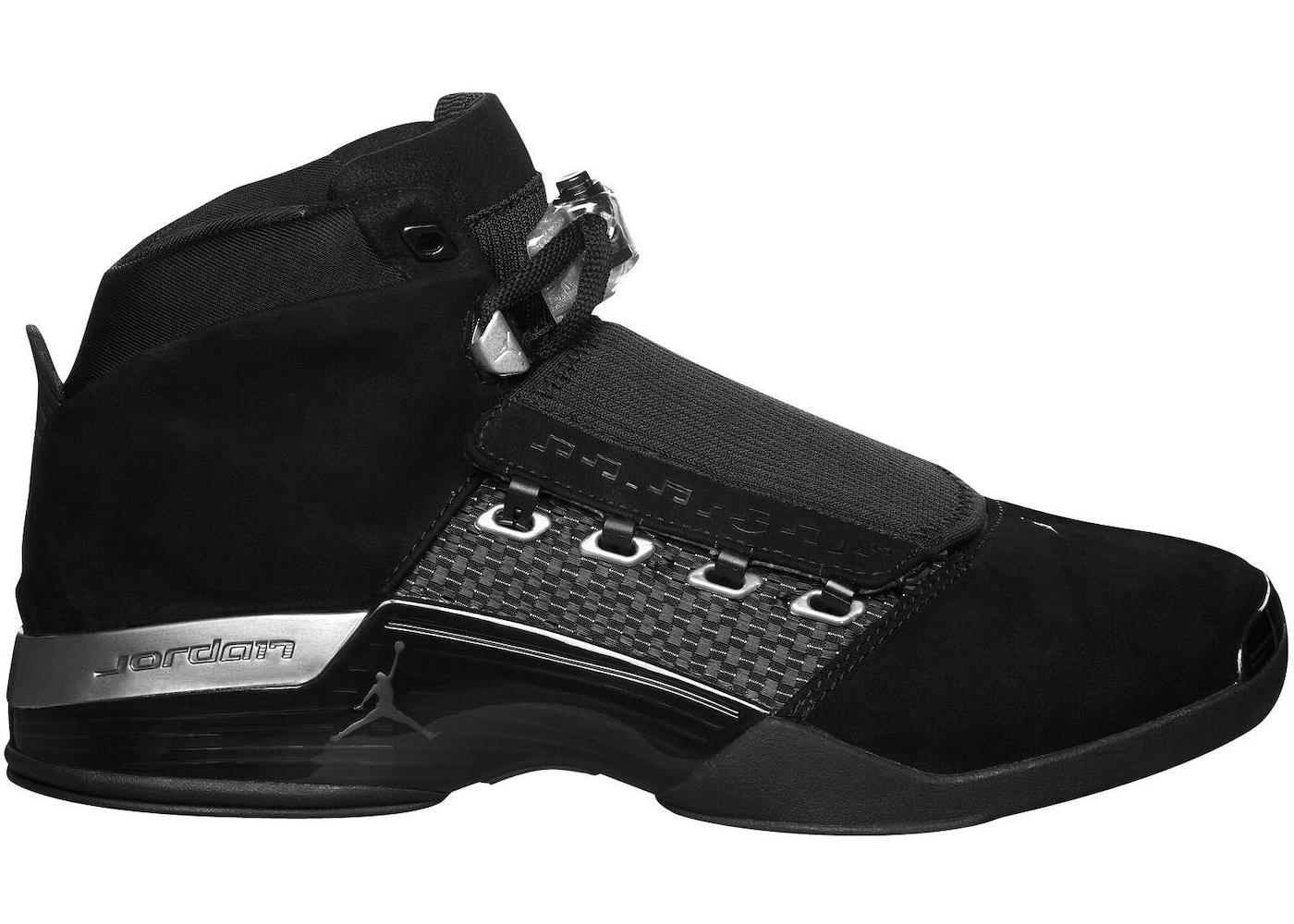 0af73018e26884 Jordan 17 Retro Black Silver CDP (2008) - 322721-001