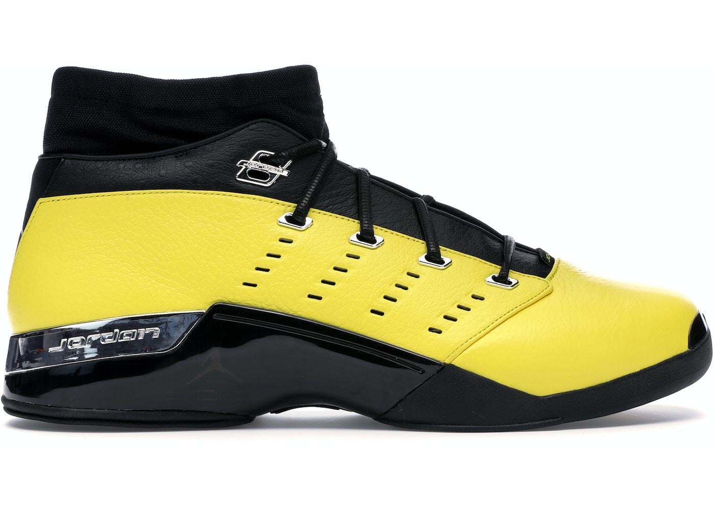 new style 6416d e61fc Jordan 17 Retro Low SoleFly Alternate Lightning - AJ7321-003