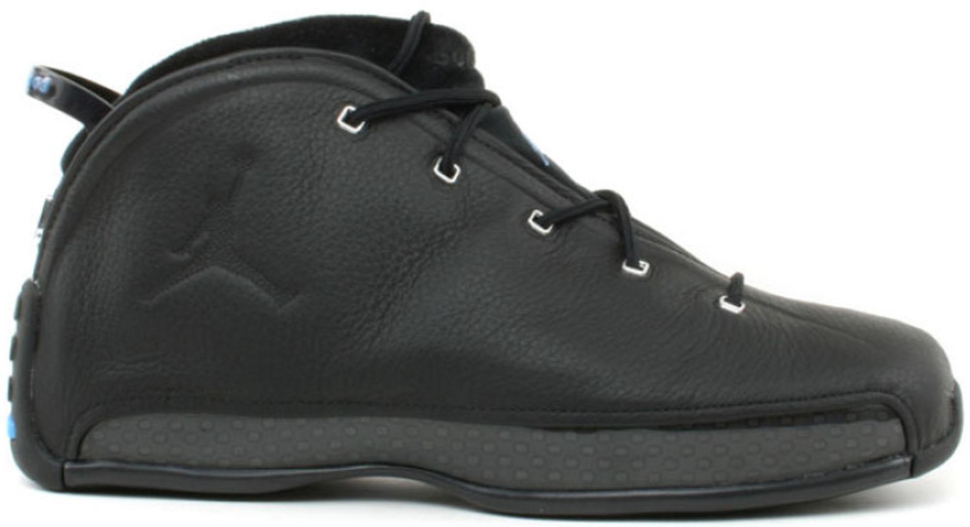 Jordan 18.5 OG Black Chrome Blue