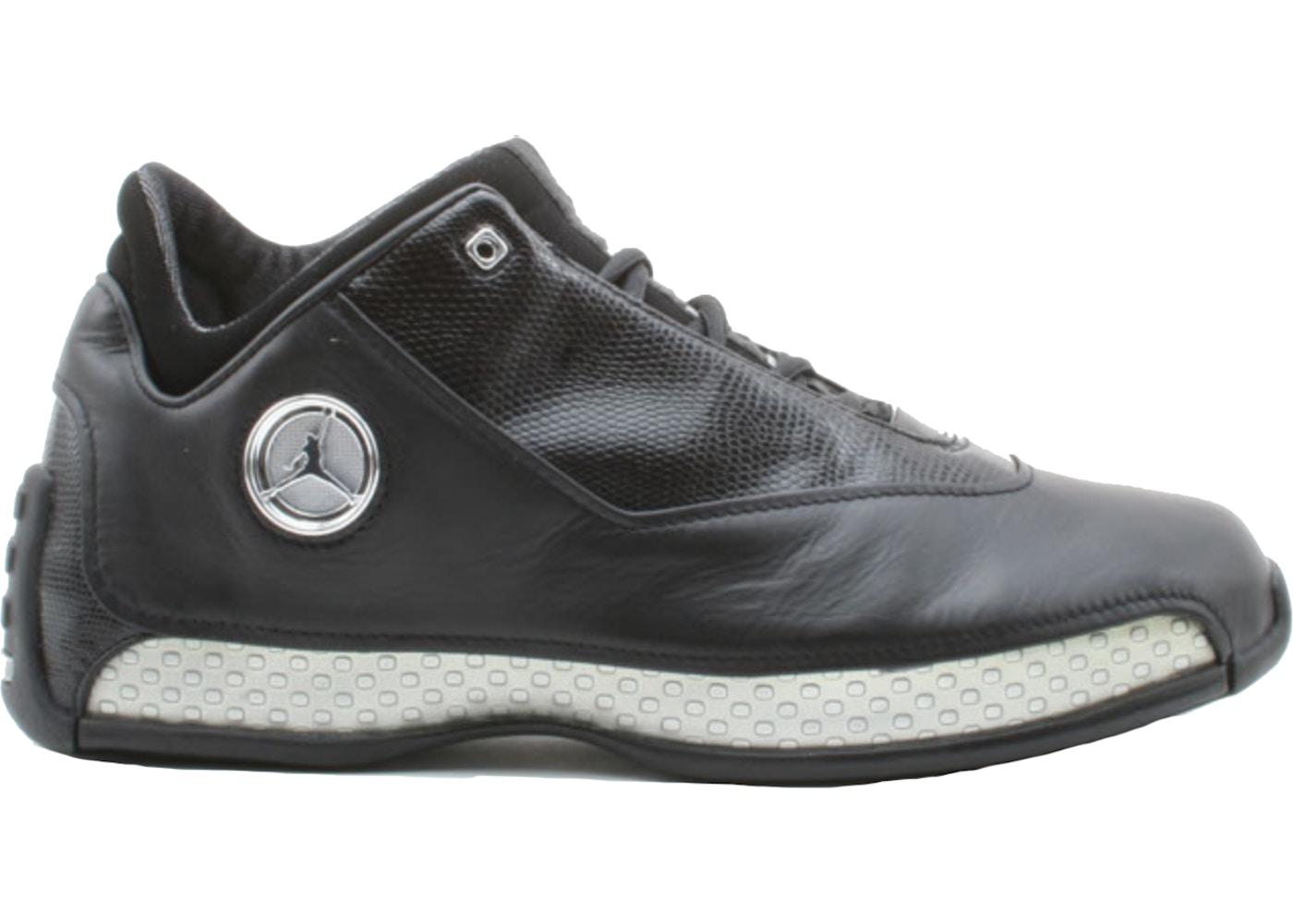f9cd891d7433 Jordan 18 OG Low Black Silver Chrome - 306151-001