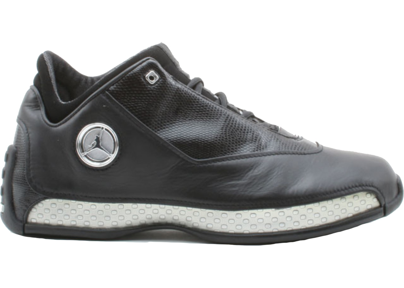 1486a0340c7 Jordan 18 OG Low Black Silver Chrome - 306151-001