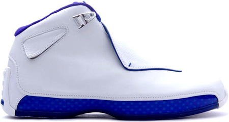 Jordan 18 OG White Sport Royal