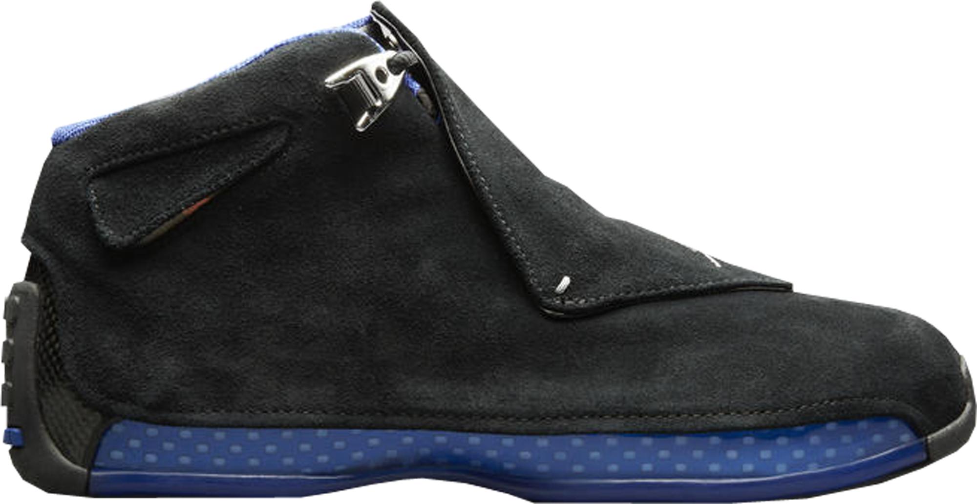 Jordan 18 Retro Black Sport Royal