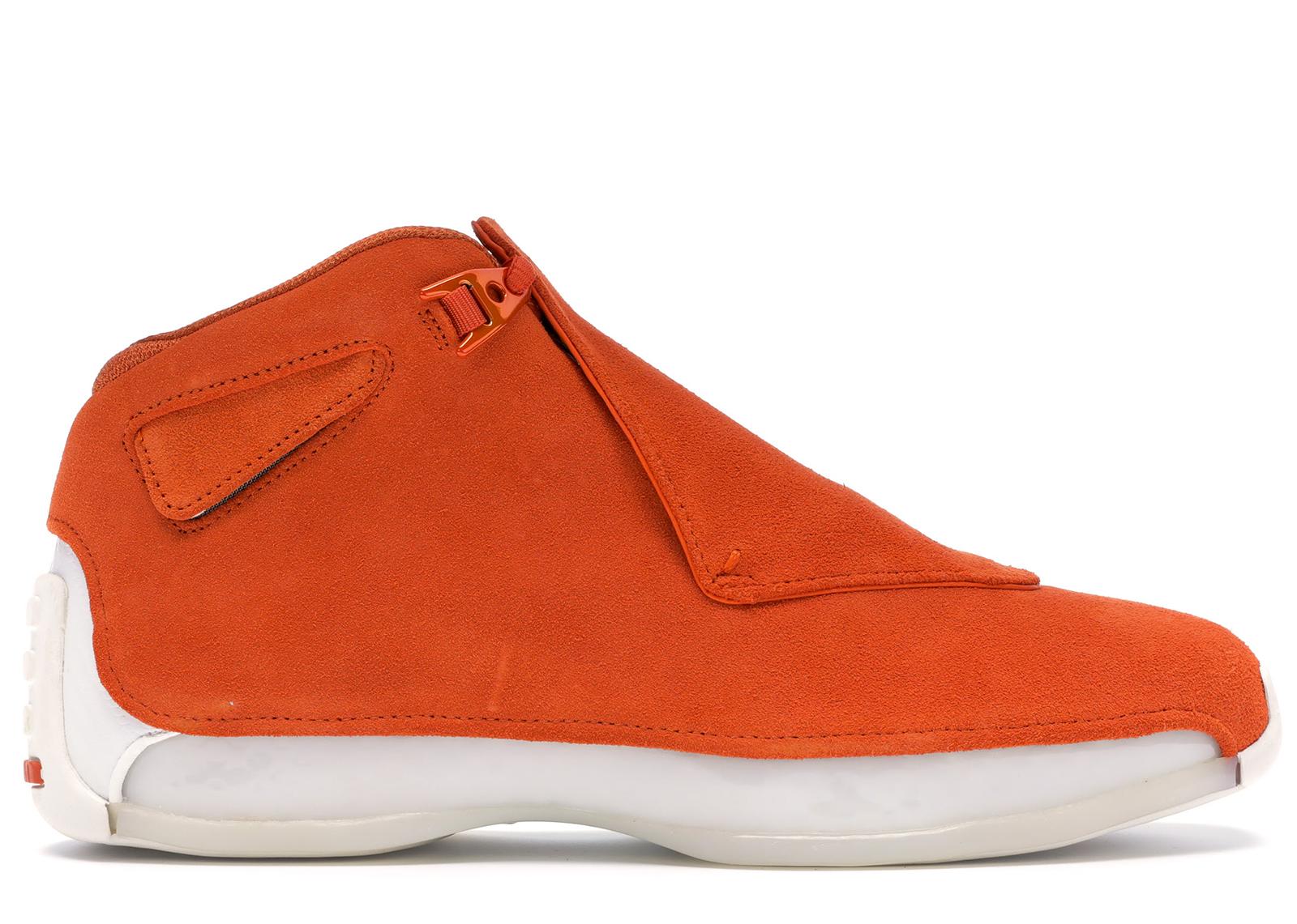 Jordan 18 Retro Campfire Orange