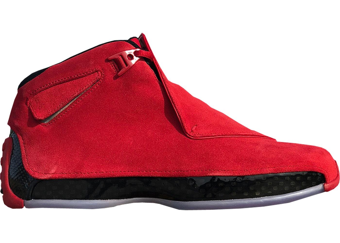 c434e23f838f ... 21 Retro XXI Red Suede – Dark Sole  Jordan 18 Retro Toro - AA2494-601  ...