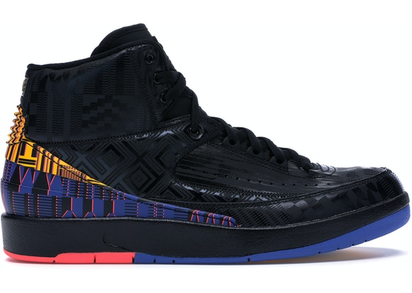 sports shoes 3a089 8716b Jordan 2 Retro Black History Month (2019)